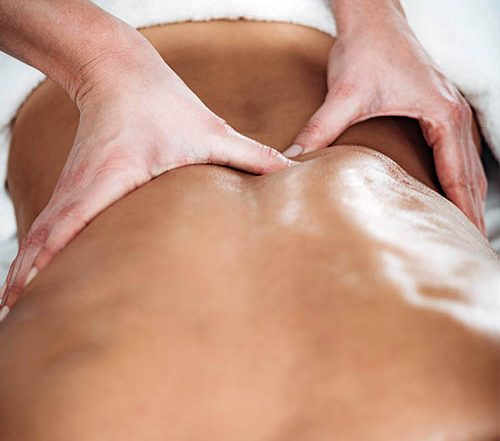 deep tissues massage