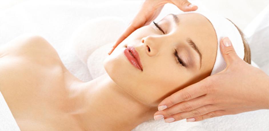 - majestic patient getting facial - Facials relaxing facial and deep peace