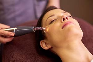 high freqency facial